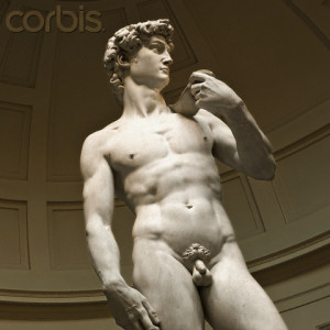 David by Michelangelo at Galleria dell'Accademia